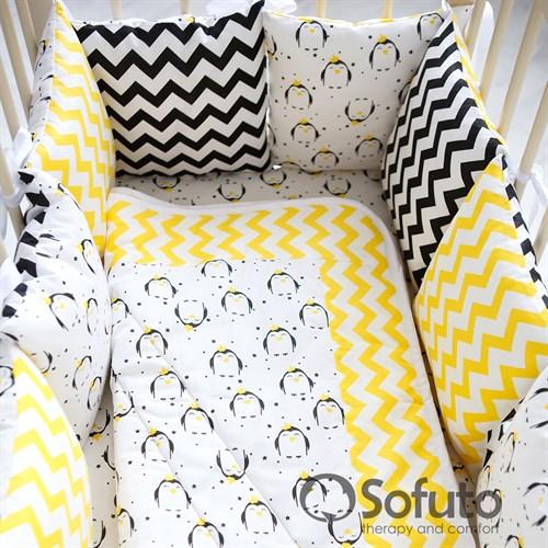 Комплект бортиков Sofuto Babyroom Pepe - фото 9833