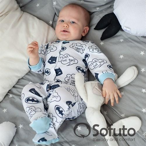 Слип на кнопках Sofuto baby Batman - фото 9852