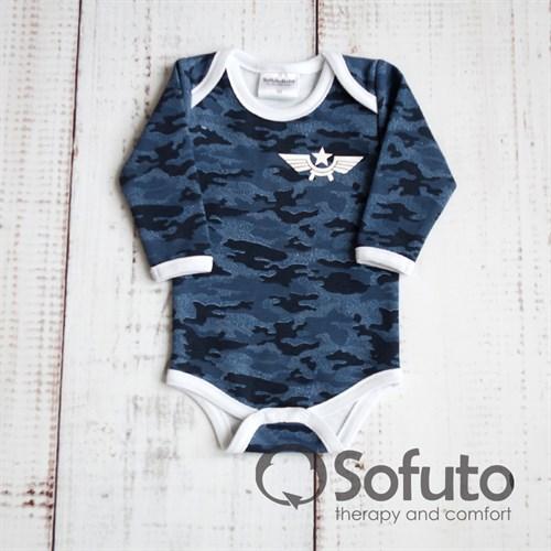 Боди детское Sofuto baby Army - фото 9920