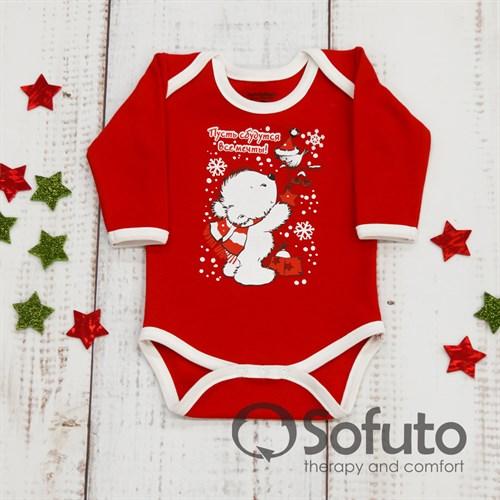 Боди детское Sofuto baby New year - фото 9934