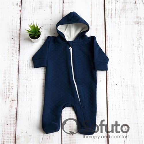Комбинезон стеганый на молнии Sofuto baby Indigo - фото 9961