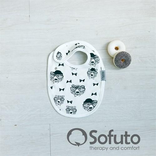 Фартук на кнопке Sofuto baby Mr bear - фото 9965