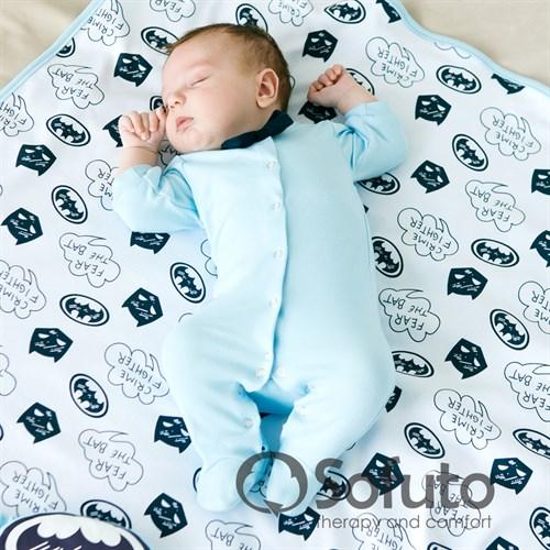Слип на кнопках Sofuto baby Batman - фото 9985