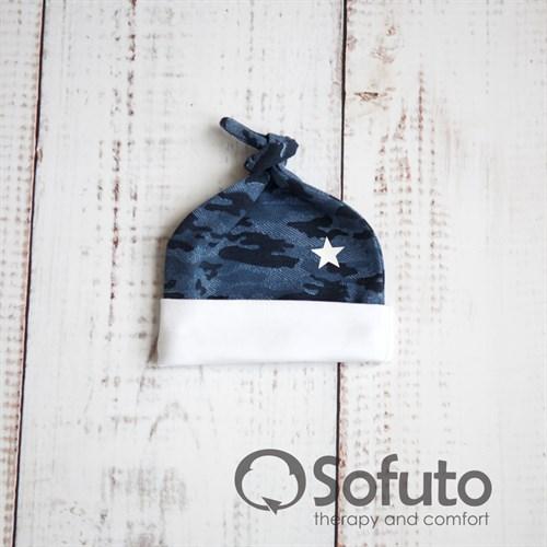 Шапочка-узелок Sofuto Baby Army - фото 9986
