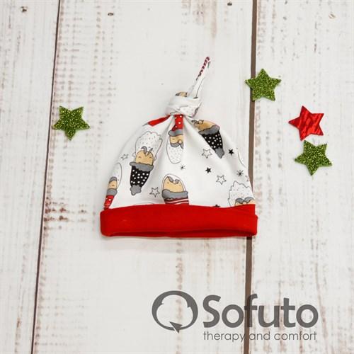 Шапочка узелок Sofuto Baby Little gnome - фото 9996