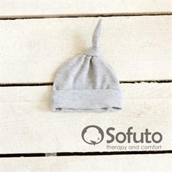 Шапочка узелок Sofuto Baby Gray