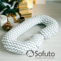Подушка для беременных Sofuto CСompact Silver waves
