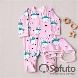 Комплект одежды первого слоя Sofuto baby Miss Bunny