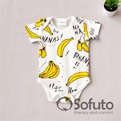 Боди короткий рукав Sofuto baby Bananas
