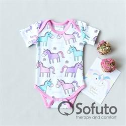 Боди короткий рукав Sofuto baby Unicorn