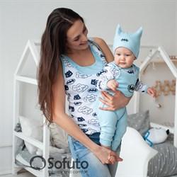 Майка для мамы Sofuto Batman
