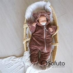 Комбинезон меховой Sofuto baby Mishutka