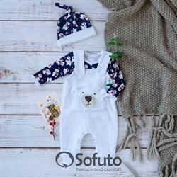 Комплект одежды 3 предмета Sofuto baby Ourson