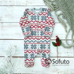 Слип на кнопках Sofuto baby Scandy
