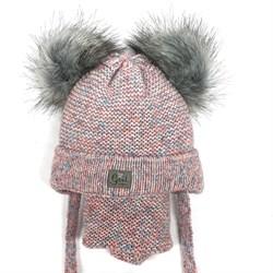 Комплект A 943ST шапка с утеплителем + снуд