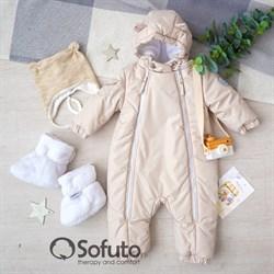 Комбинезон демисезонный Sofuto outwear toddler Cream