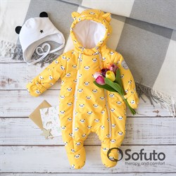Комбинезон демисезонный Sofuto outwear Panda