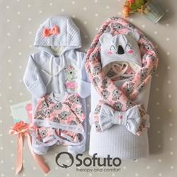 Комплект на выписку демисезонный (6 предметов) Sofuto baby Koala