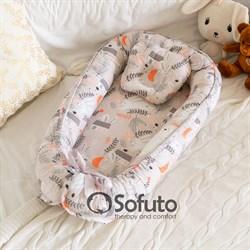 Кокон-гнездышко Sofuto Babynest Autumn Forest