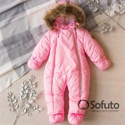 Комбинезон зимний Sofuto outwear V3 Pink (toddler)
