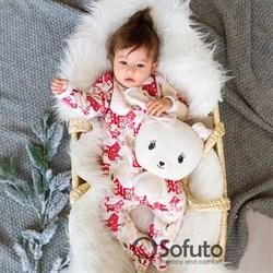 Слип тёплый на молнии Sofuto Baby Xmas