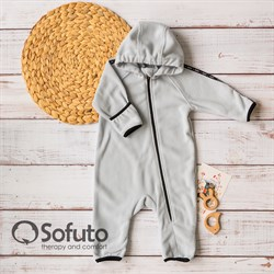 Комбинезон-поддёва Sofuto baby Fleece Gray