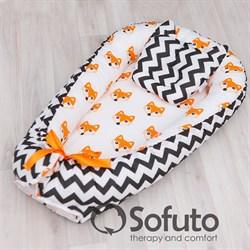 Кокон-гнездышко Sofuto Babynest Little Fox