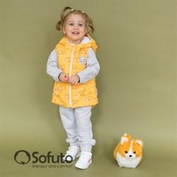 Жилет демисезонный Sofuto outwear Corgi