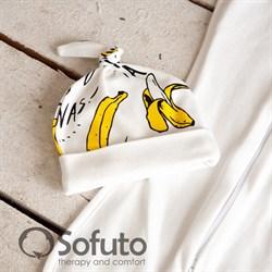 Шапочка узелок Sofuto Baby Bananas