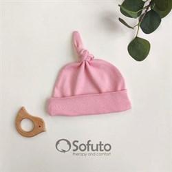 Шапочка узелок Sofuto Baby Vintage poudre