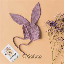Чепчик муслиновый Sofuto baby Lila