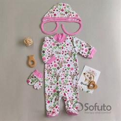 Комплект одежды первого слоя Sofuto baby Flowers