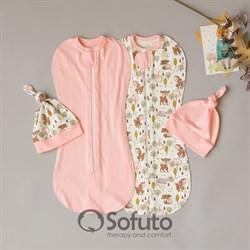 Комплект пеленок Sofuto Sensitive line Bambi