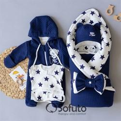 Комплект на выписку демисезонный (6 предметов) Sofuto Little Star