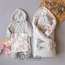 Комплект на выписку демисезонный (6 предметов) Sofuto baby Vintage