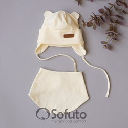 Комплект шапка+снуд Sofuto Urban Milk