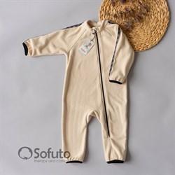 Комбинезон-поддёва Sofuto kids Fleece Cream