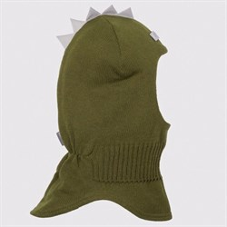 Шлем зимний вязаный Оливковый ОРЕО