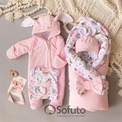 Комплект на выписку холодная зима (6 предметов) Sofuto baby Zefir