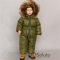 Комбинезон зимний Sofuto outwear kids V6 Khaki
