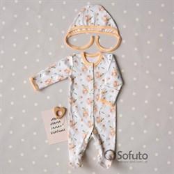Комплект одежды первого слоя Sofuto baby Blossom