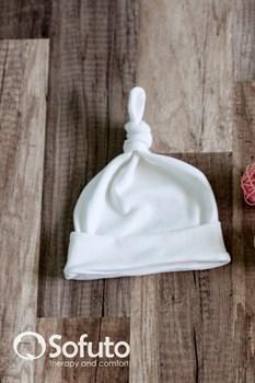 Шапочка узелок Sofuto Baby milk