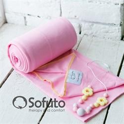 Слинг-шарф трикотажный Sofuto Babysling pink